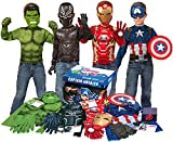 Imagine by Rubie's Marvel Avengers Play Trunk with Iron Man, Captain America, Hulk, Black Panther...