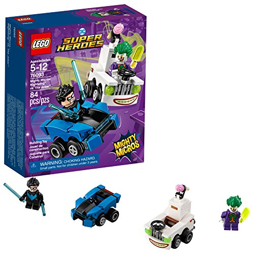 LEGO DC Super Heroes Mighty Micros: Nightwing vs. The Joker 76093 Building Kit (84 Piece)