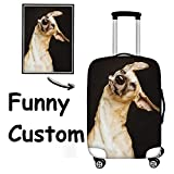 FOR U DESIGNS Custom Luggage Cover 18/20/24/28 Inch Suitcase Protective Cover