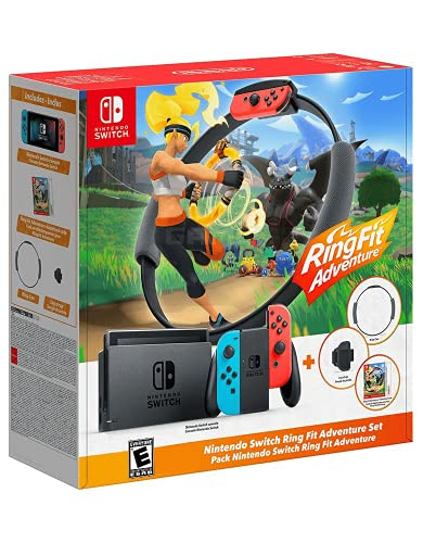 Nintendo Switch Ring Fit Adventure-Set