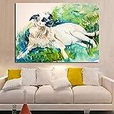 Charley Of Rosehip Farm Wall Pictures For Living Room Arte De La Lona Decoracin Para El Hogar Moderno Sin Marco Pintura Al leo 60X80 Cm