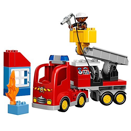 LEGO DUPLO Town Fire Truck 10592 Buildable Toy for...