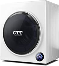 CTT 13 Lbs. Capacity/3.5 Cu.Ft. Intelligent Compact Portable Tumble Clothes Laundry..