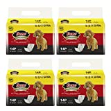 Dono Disposable Male Wraps Dog Diapers Super Absorbent Soft Diapers for Male Dogs,with Wetness Indicator,56pcs,XS (6'-13')