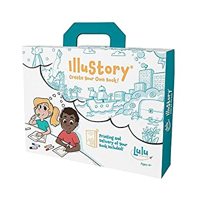 IlluStory - Create Your Own Book! is the newest version of the award-winning bookmaking kit for children This new version of the beloved book making kit features a new writing guide, 'Just Imagine..A Guide to Writing and Illustrating Your Story'; whi...