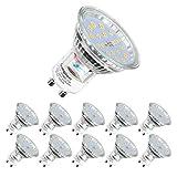 Ampoules LED GU10, 5W équivalent 60W, 600lm, Blanc Froid 6000K, 120°...