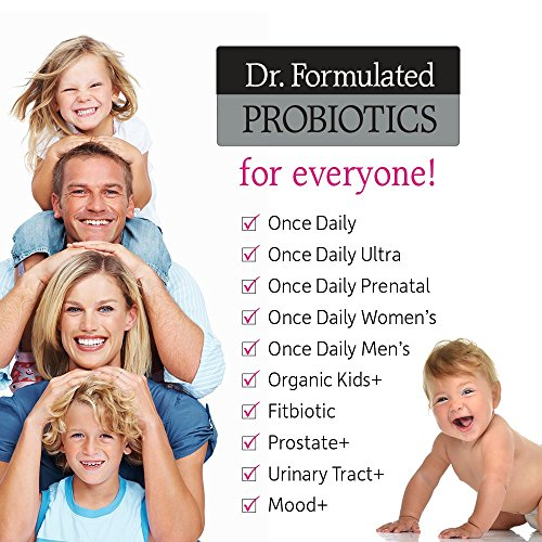 Garden of Life Dr. Formulated Probiotics for Women, Once Daily Women's Probiotics 50 Billion CFU Guaranteed and Prebiotic Fiber, Shelf Stable One a Day Probiotic No Gluten Dairy or Soy, 30 Capsules 6