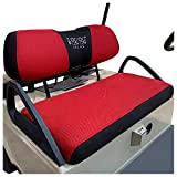 10L0L Golf Cart Bench Seat Cover Set, Warm Bench Seat Cover for Cold...