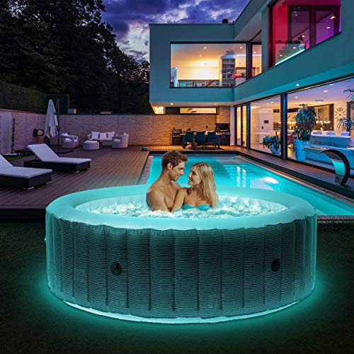 Miweba MSpa aufblasbarer Whirlpool 2021 Starry C-ST061 Outdoor - ...