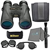 Nikon Monarch 5 8x42 Binoculars (7576), Black Bundle with a Nikon Lens Pen and Lumintrail Cleaning Cloth