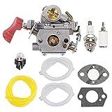 HONEYRAIN C1M-W44 Carburetor for Poulan PP338PT PP333 PP033 PP133 PRO PP333 PRO PP133 Gas Trimmer Edger 33cc Carb Replace 545008042 545189502