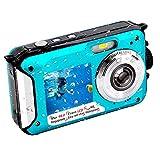 Appareil Photo Etanche Full HD 2.7K 10FT Caméra étanche 48 MP Appareil Photo étanche Retardateur...