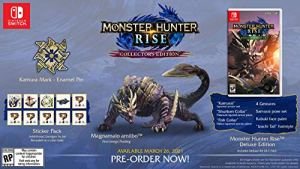 Monster Hunter Rise – Collector's Edition – Nintendo Switch Collectors Edition