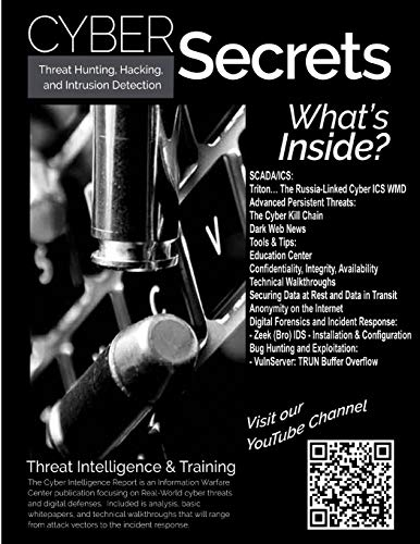 Threat Hunting, Hacking, and Intrusion Detection: SCADA, Dark Web, and APTs Front Cover
