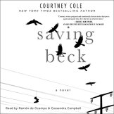 Saving Beck audiobook cover art
