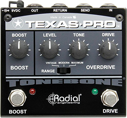 Radial Tonebone Texas Pro overdrive effects pedal