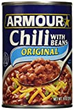 Armour Star Chili With Beans, 14 oz. (Pack of...