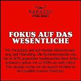 Barazzo Jerky Pork Honey Mustard 1 kg – 2x500g Maxibeutel – proteinreicher Trockenfleisch Snack mit wenig Fett – Hergestellt vom Deutschen Handwerk – Beef Jerky/Biltong - 6