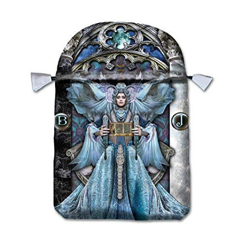 ILLUMINATI TAROT BAG BT43Printed Satin