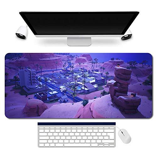 Alfombrilla de ratón Fortnite, Fortnite, alfombrilla para ratón, Fortnite para juegos, gran juego lavable tamaño del ratón óptico (900 x 400 mm)