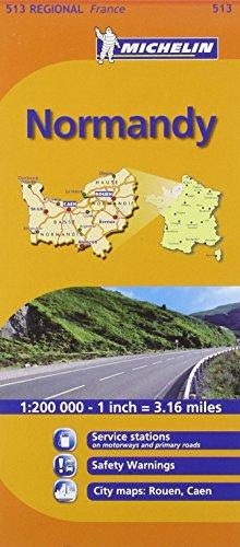 Mapa Regional Normandy (Carte regionali)