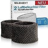 [NEU] 2 Filter für Philips Luftbefeuchter [HU4816, HU4814, HU4813, HU4811, HU4803 & HU4801 – Ersetzt FY2401] Hygienische Luftbefeuchtung, 99% weniger Bakterien für Allergiker gegen Feinstaub/Viren