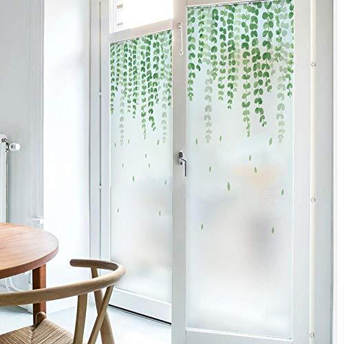 Piante verdi opache elettrostatiche satinate una variet di stili anti-voyeur copertura adesivi in...