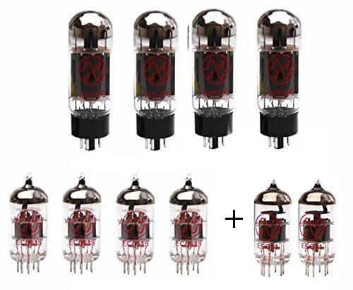 Replacement Valve Kit For Fender Twin Reverb (4 x ECC83 1 x ECC81 1 x Balanced ECC81 4 x Matched 6L6GC)