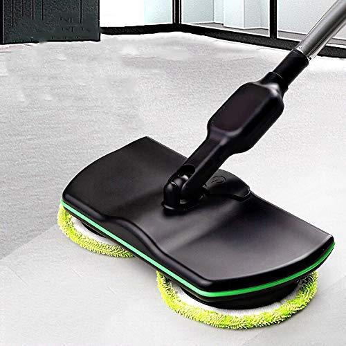 HADMB Mop Wireless Mop Elettrico Rotante Senza Fili Mop lucidatrice per Pavimenti e Moquette...