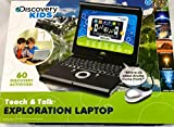Discovery Kids Teach & Talk Exploration Laptop Silver