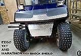 EZGO Golf cart Diamond Plate Bumper/Shock Cover