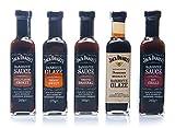 Jack Daniel's - Grillsaucen & BBQ Glaze Probierpaket -...