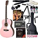 HONEY BEE ハニービー アコースティックギター フォークギタータイプ F-15/SKR 初心者入門16点セット