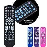 GE Backlit Universal Remote Control for Samsung, Vizio, LG, Sony, Sharp, Roku, Apple TV, RCA, Panasonic, Smart TV, Streaming Players, Blu-Ray, DVD,  4-Device, Black, 40081