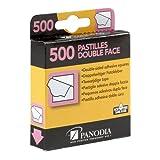 Panodia Boîte de 500 pastilles adhésives Double-Face - Marque française