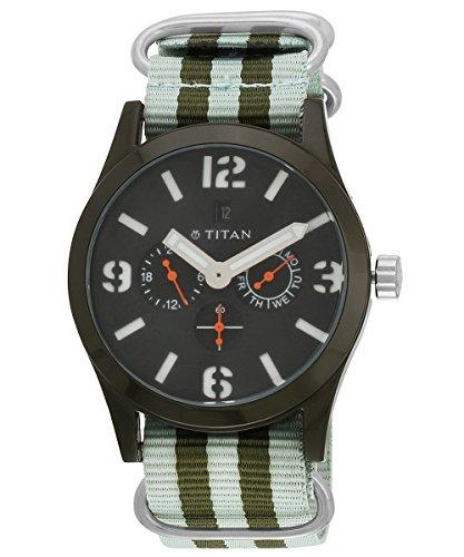 Titan Analog Black Dial Men's Watch