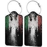 VORMOR Etiquetas para Equipaje,La Bandera de Guatemala,2 Piezas Etiquetas de Equipaje de Viaje Etiquetas de Identificación de la Maleta para Maletas,Mochila