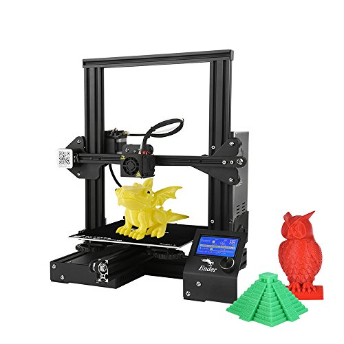 Creality 3D Ender-3 3D Printer DIY Easy-Assemble 220 x 220 x 250mm Printing Size with Resume...