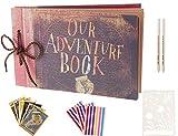 Boic Album Photo pour Le Scrapbooking, Our Adventure Book Livre Photo pour...