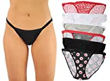 Just Intimates JI-6P0004-C-5 Underwear (Pack of 6)