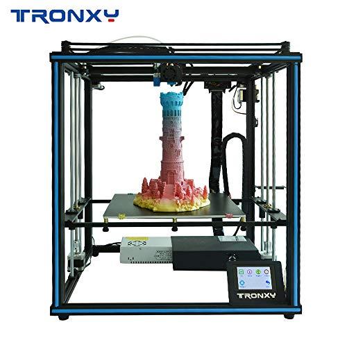 3D Drucker TRONXY X5SA mit quadratischer Struktur, großer Druckbereich 330x330x400 mm