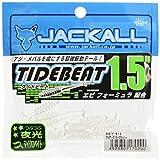 JACKALL(ジャッカル) ワーム タイドビート 1.5インチ クリアーグロークラッシュ