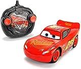 Cars Rayo Mcqueen Voiture RC MC Queen Echelle 1/24 (Simba 3084003)