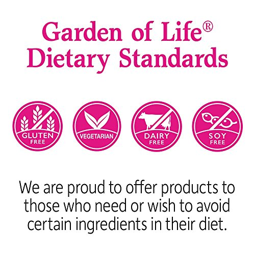 Garden of Life Dr. Formulated Probiotics for Women, Once Daily Women's Probiotics 50 Billion CFU Guaranteed and Prebiotic Fiber, Shelf Stable One a Day Probiotic No Gluten Dairy or Soy, 30 Capsules 4