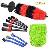 VIGRUE 10Pcs Wheel Brush Kit -...