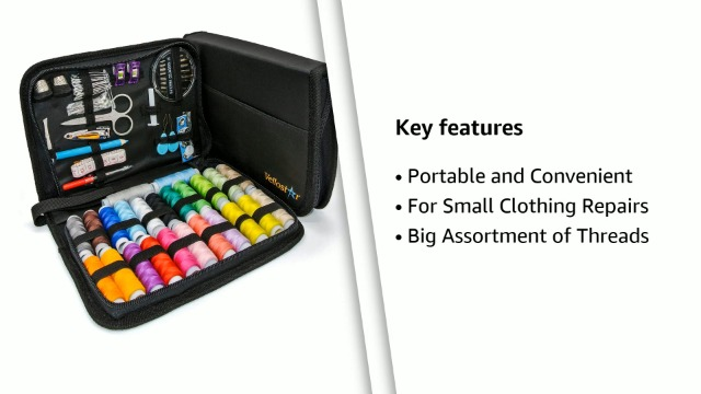 Sewing-Kits-for-Adults--Complete-Needle-and-Thread-Kit-for-Sewing--Includes-24-Color-Threads-30-Needles-Scissors--Portable-Travel-Case-Sewing-Repair-Kit--Ideal-for-Beginners-Rapid-Fixes