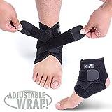 Ankle Support Brace, Breathable Neoprene Sleeve, Adjustable Wrap!