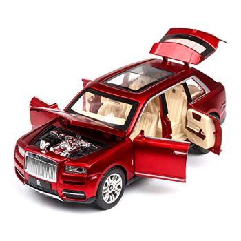 Rolls Royce Cullinan SUV Diecast Metal Car Models, Model car Alloy Car, Scale Cullinan Car Mode   High Simulation   Scale 1:24  ,MercedesG65Red WKY (Color : Rcullinanred)