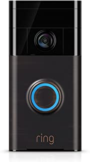 Ring Video Doorbell (1st Gen) – 720p HD video, motion activated alerts, easy..