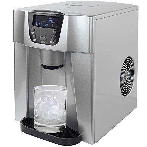 Gino Gelati GG-500 Water - Macchina digitale per cubetti di ghiaccio